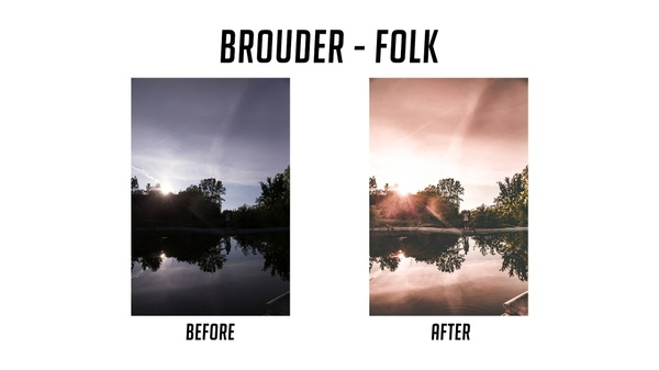 Brouder Media Preset Pack #1