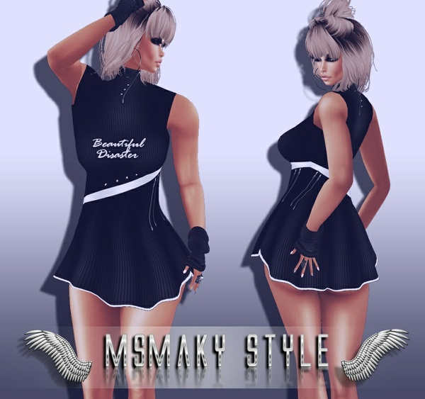 ~ BEAUTIFUL DISASTER DRESS PSD PACK ~