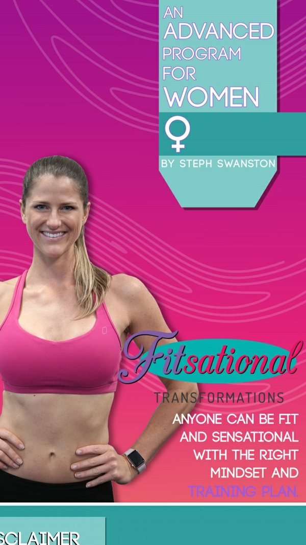 Advanced Womens Fitness Program
