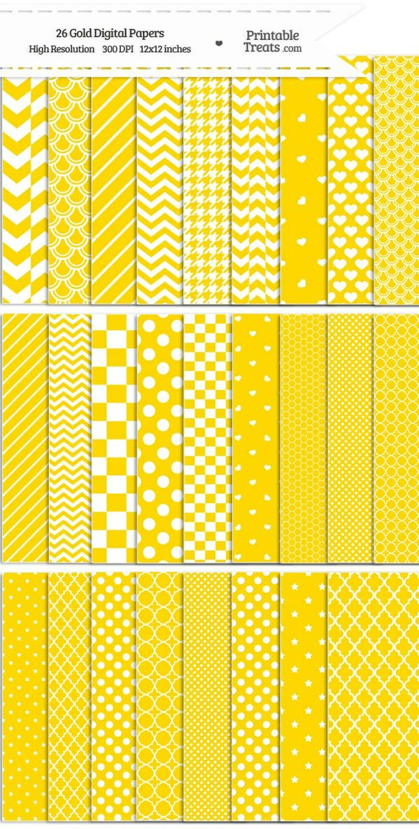 26 Gold Digital Paper Set Password