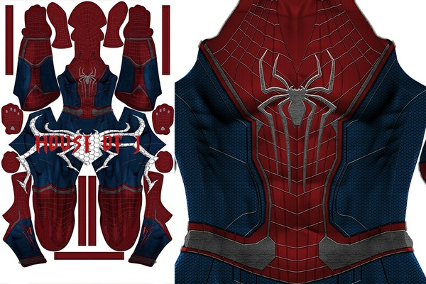 Civil War + TASM 2 mix Suit Pattern (light)