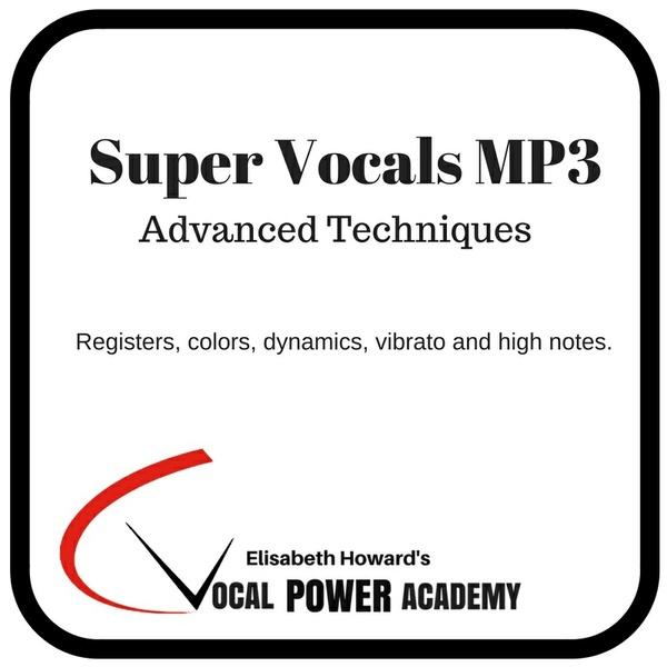 Super Vocals Advanced Techniques MP3