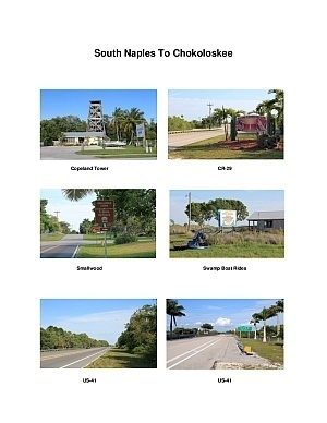 South Naples To Chokoloskee Scenic Motorcycle Ride