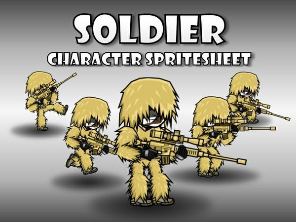 Soldier 44 Desert Sniper