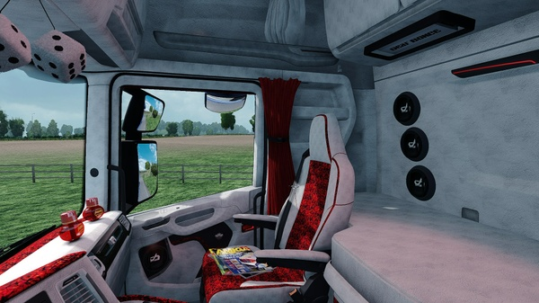 Scania S Holland / Danish Interior ETS 2