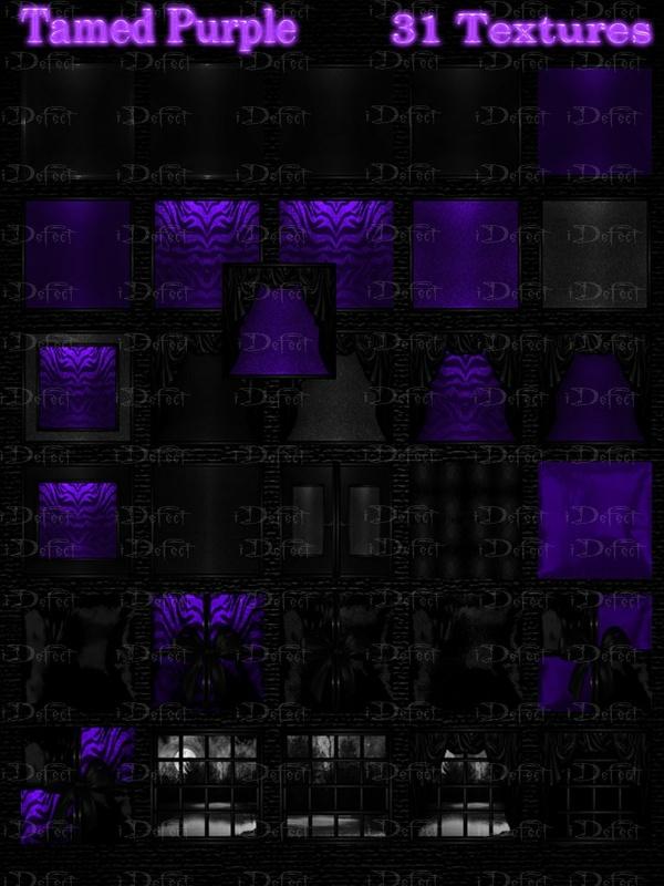 Tamed Purple Room Texture