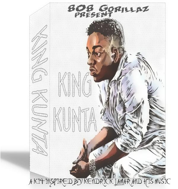 KING KUNTA (KENDRICK LAMAR DRUMKIT/SAMPLEPACK)