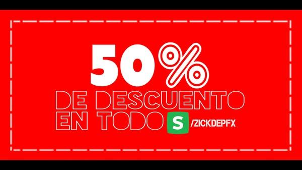Cupón 50% ZickDepFX