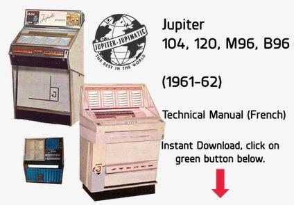 Jupiter 104, 120, M96, B96