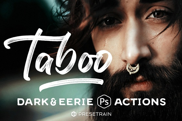 Taboo Dark & Eerie Photoshop Actions