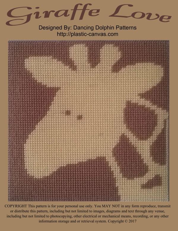628 - Giraffe Love
