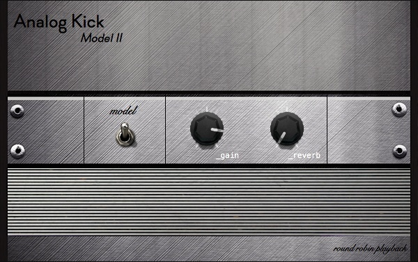 Analog Kick M02 | Round Robin Kick Drum Rompler