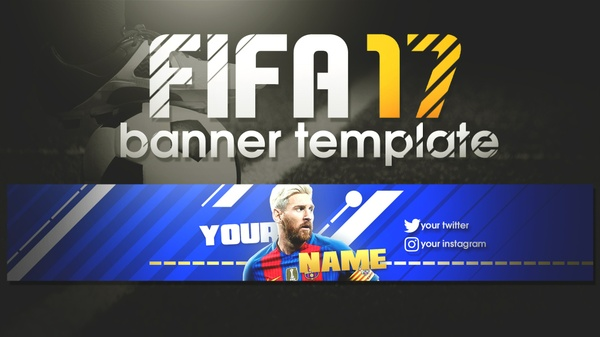 FIFA 17 BANNER TEMPLATE !! | RAULCHEET