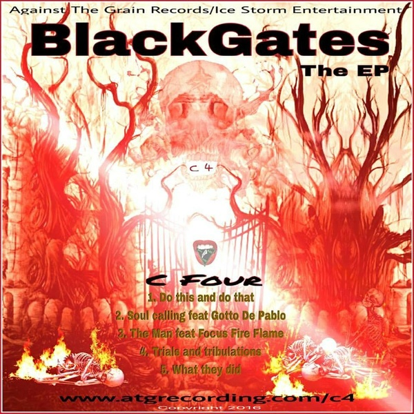BlackGates - The EP by C Four
