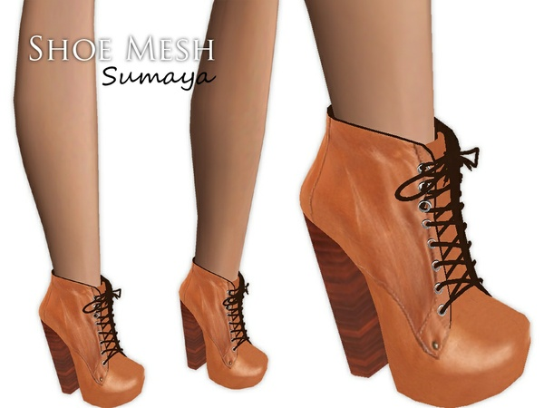 IMVU Mesh - Shoes - Sumaya