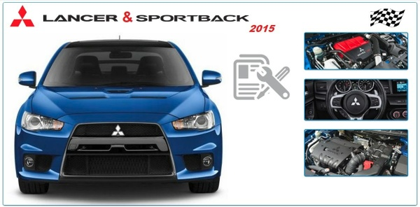 Mitsubishi Lancer & Sportback 2015 Workshop Manual