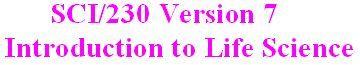 SCI 230 Week 1 Assignment - The Scientific Method