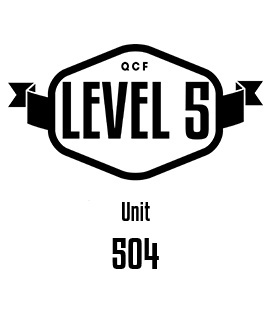 UNIT 504 Develop Health and Safety and Risk Management Policies, Procedures