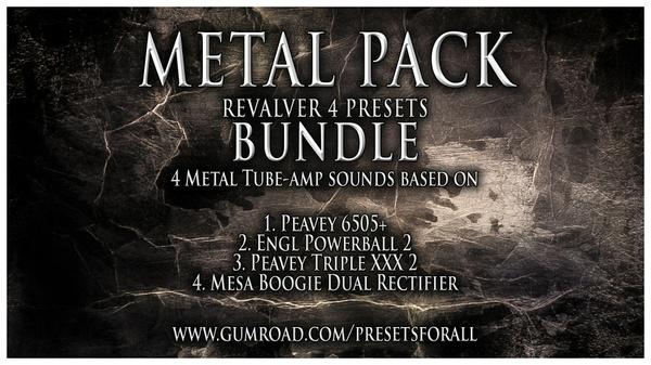 METAL PACK Presets BUNDLE | ReValver 4