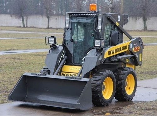New Holland L140 L150 Skid Steer Loaders Service Repair Manual Download