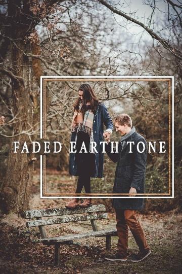 Faded Earth Tone   Lightroom Preset