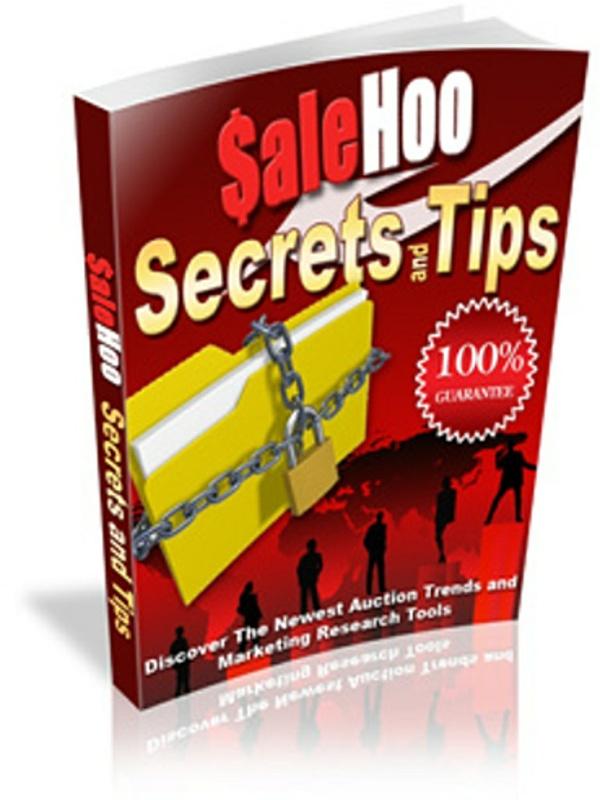 SaleHoo Secrets and Tips PDF eBook