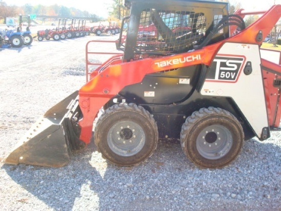 Takeuchi TS50V / TS60V Skid Steer Loader Service Repair Workshop Manual Download
