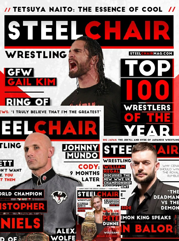 SteelChair Magazine 01-18 - 18 Issues