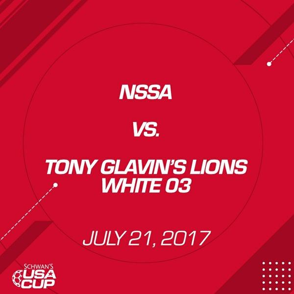 Boys U14 Silver - July 21, 2017 - NSSA vs Tony Glavin Lions White 03