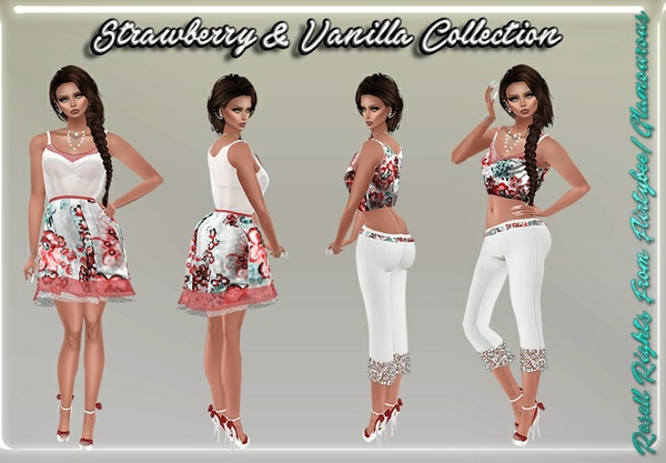 Strawberry & Vanilla Collection Catty Only!!!