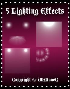 5 Lighting Effect Instants