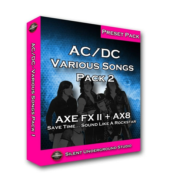 """AC/DC 2  """"Various Song"""" (FAS)"""