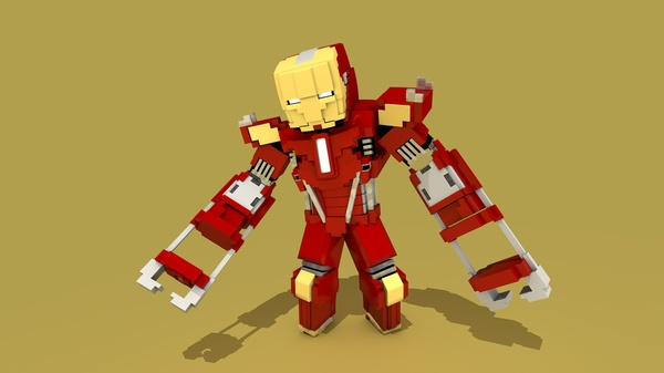 MC Iron Man (Mark 35-Red Snapper) Rig (#FD)