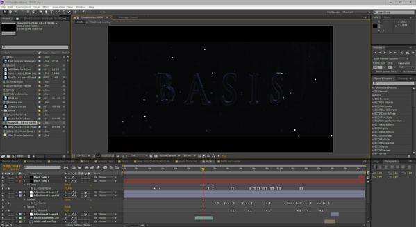 """BASIS Trailer"" Project files (including all footage  - clips, cinematics, prerenders)"