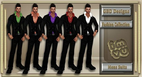 Mens FullFit & Shoes Suits Set CATALOG ONLY!!