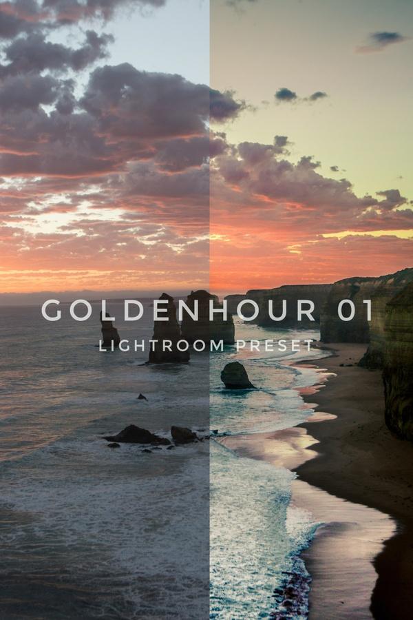 GoldenHour01 Lightroom preset