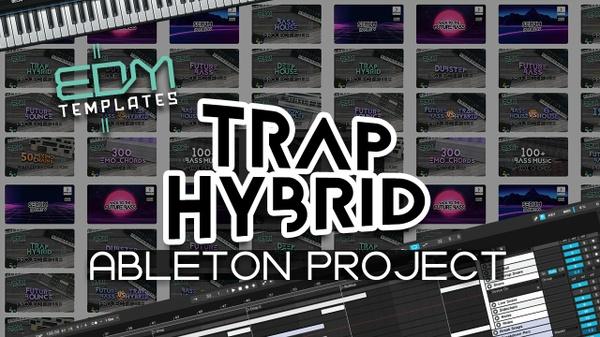 Ableton Live Trap Hybrid Template 01.06