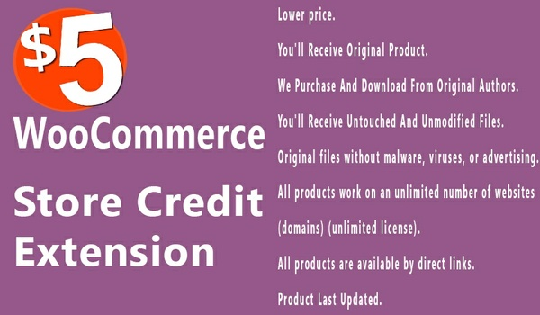 WooCommerce Store Credit 2.1.13 Extension