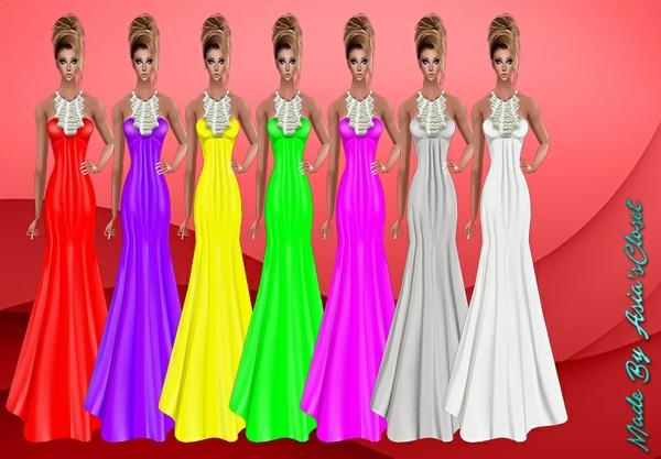 Donna Long Dresses
