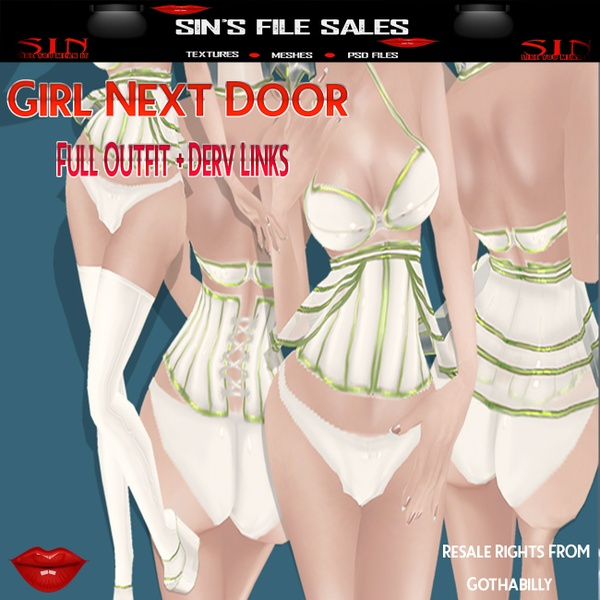 Girl Next Door Outfit Bundle