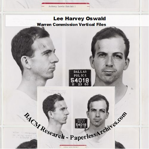 John F. Kennedy Assassination: Lee Harvey Oswald Warren Commission Vertical File