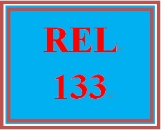 REL 133 Week 3 Knowledge Check
