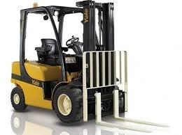 Yale (B875) GLP20-35VX, GDP20-35VX Forklift Service Parts Manual