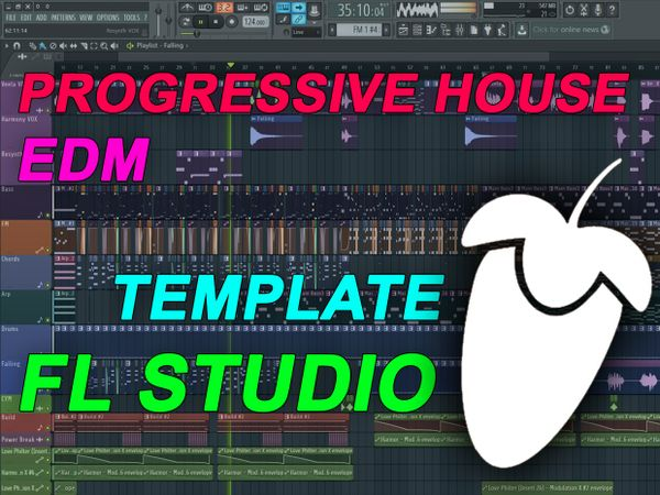 FL Studio - EDM Progressive House Template