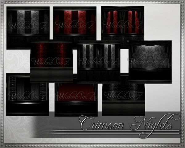 Crimson Night - 39 Textures - $4.00