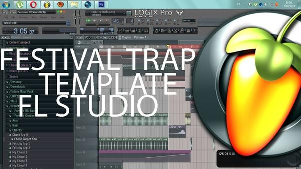 FESTIVAL TRAP TEMPLATE - FL STUDIO