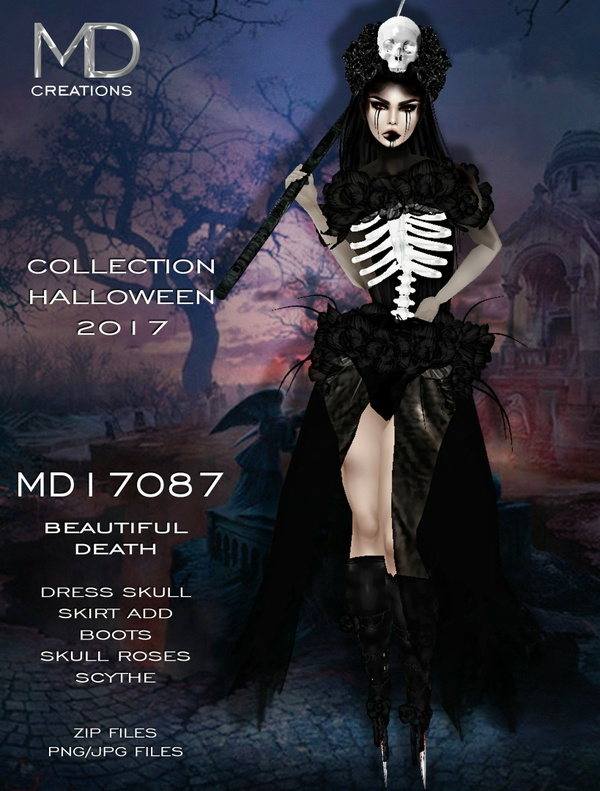 MD17087 - Beautiful Death