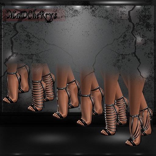 MaD Files vitage sandals