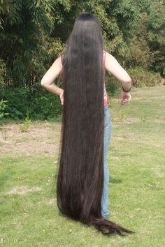 Guo Lijuan super silky super Long Hair