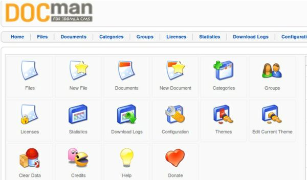 DocMan Extension for Joomla 1.5
